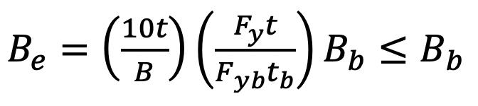 Equation K1-1 AISC 360-16